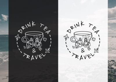 Drink tea and travel