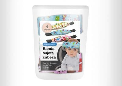 Children safety belt package