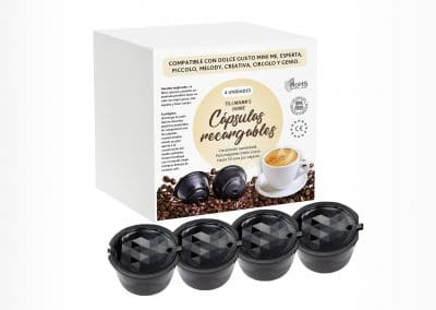 Coffee pads package design